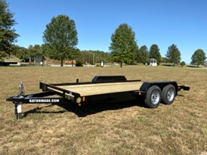 Car Hauler 16ft By Gator Car Hauler 16ft By Gator. Lowboy with slide under ramps