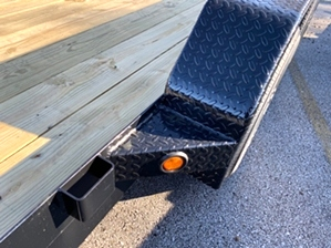 Car Hauler 16ft With Slide Under Ramps By Gator