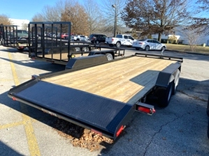 Car Hauler With Dovetail