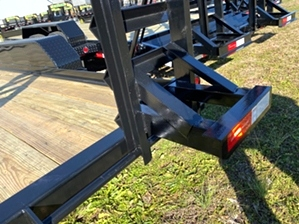 Car Hauler 18ft With Stand Up Loading Ramps