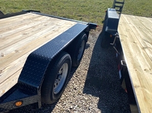 Car Hauler With Duck Tail